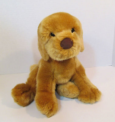 "12"" Douglas Cuddle Toy Plush Golden Retriever Puppy Dog- Stuffed Lab Pup 2+"