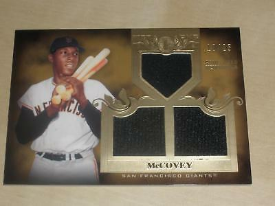 2011 Topps Tier One 1 Triple Game Used Jersey #40 Willie McCovey 10/25