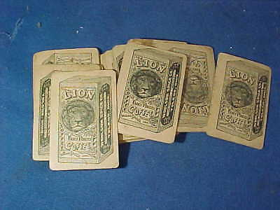 43-19thc LION COFFEE Premiums CELESTIAL PLAYING CARDS
