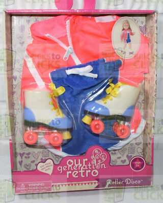 "Our Generation Retro Roller Disco Outfit for 18"" Dolls Doll Clothing"
