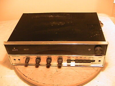Scott Stereomaster 344C stereo receiver PARTS or REPAIR or RESTORE ONLY