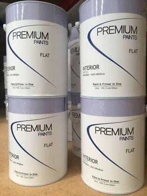 Premium 15 Litre Inter Ceiling-Flat & Primer All In One Coat White Colour Paint