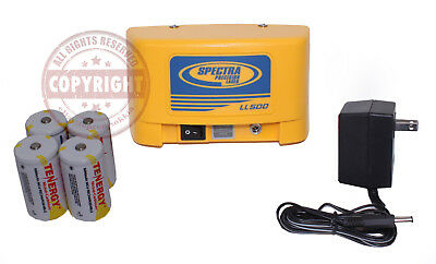 Spectra Precision Laser Level Rechargeable Battery Pack Kit,Ll500,Laserplane