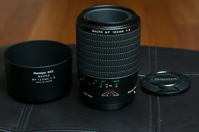 Mamiya AF 120MM F4 MF Sekor D Macro Lens for Phase One & Mamiya - D Version Lens