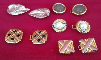 5 Pc Lot Set Vintage Women's Belt Buckle Signed Paquelle Dotty Smith Mimidin  ✞