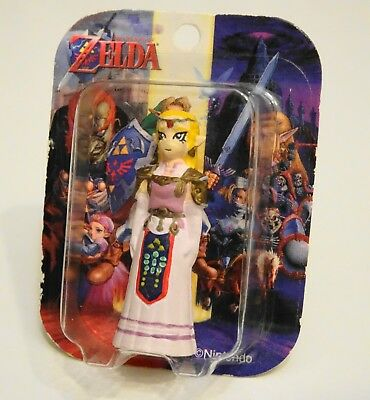 LEGEND of ZELDA Ocarina Time ADULT PRINCESS ZELDA MINI TOMY FIGURE Nintendo RARE