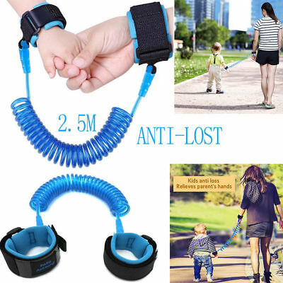Baby Child Anti-Lost Safety Wrist Link Harness Strap Rope Leash Walking Hand Bel