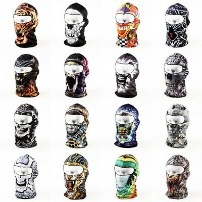 AU 1X Motorcycle Balaclava Neck Winter Ski Bike Cycling Full Face Mask Cap Cover