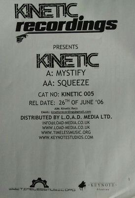 Kinetic (10) / Mystify / Squeeze
