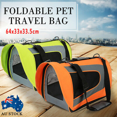 Pet Carrier Dog Cat Soft Crate Cage Portable Kennel Foldable Travel Hot Size XL