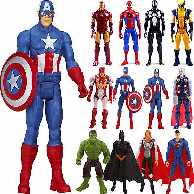 Marvel The Avengers Super Hero Spider-man Captain America Action Figure Toy Gift