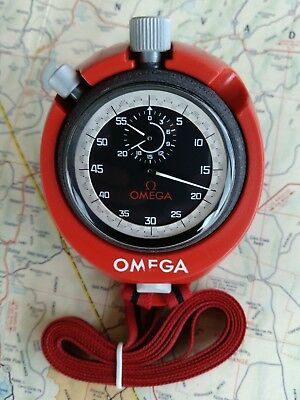 Extremely Rare New Old Stock Omega 30 Min Addition Stopwatch Heuer Autavia Rally