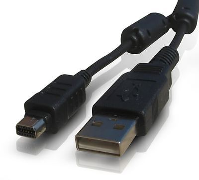 OLYMPUS Pen E-PL3 / Mini E-PM1 / FE-130 / FE-140 DIGITAL CAMERA USB CABLE CORD