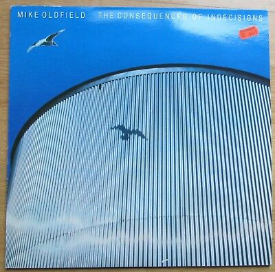 "Vinyl-12"" LP Mike Oldfield - The Consequences Of Indecicions - 1981"