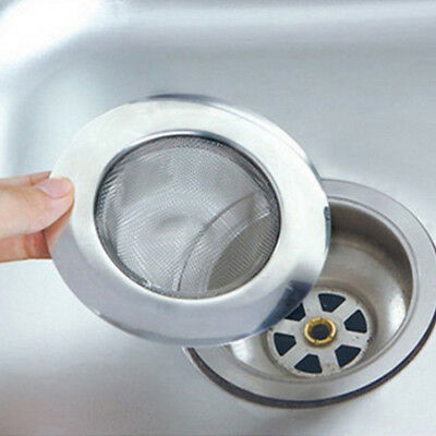 Stainless Steel Sink Strainers Filter Plug Waste Kitchen Washing Pool Tools