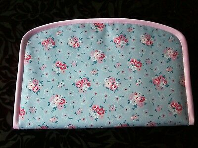 Handmade portable baby travel changing mat Cath Kidston Cowboy Fabric /& Oilcloth