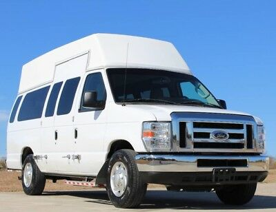 2012 Ford E-Series Van E-350 High Roof Braun Equipped Handicap Van 2012 E-350 High Roof Braun Equipped Lift Handicap Van Low Miles One Owner
