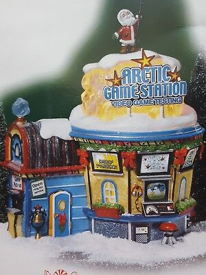 Department 56 NORTH POLE Village ARCTIC GAME STATION  Brand New!