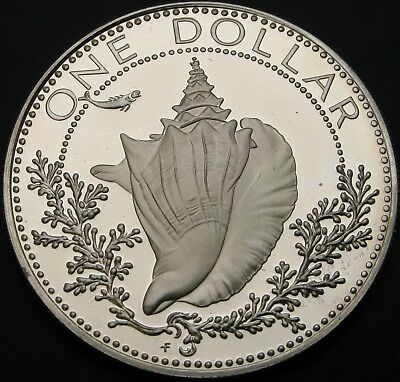 BAHAMAS 1 Dollar 1974 Proof - Silver - 3244 ¤