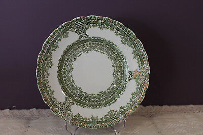 """Wood & Sons Royal Semi Porcelain 8"""" Luncheon Plate Limoges"""