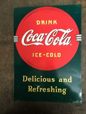 Coca Cola Tin Sign 17X12
