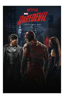 DareDevil Poster Photo 11x17 in / 28x43 cm TV Show Jon Burnthal Charlie Cox