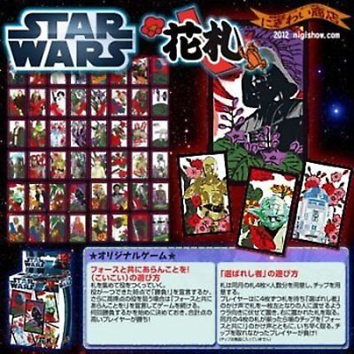 star wars playing cards hanafuda japan traditional card game new year game fs
