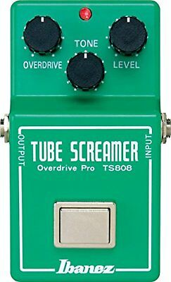 IBANEZ  TS808 Tube Screamer Guitar Effect Pedal Overdrive F/S w/Tracking# Japan