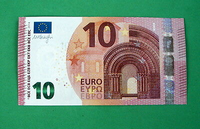 10 European/German Euro Real Paper Note Currency (From the Bank) See Pics