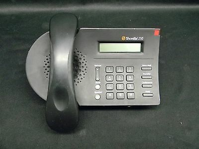 ShoreTel 210 SIA IP VoIP Black Office Business Telephone w/ Caller Display