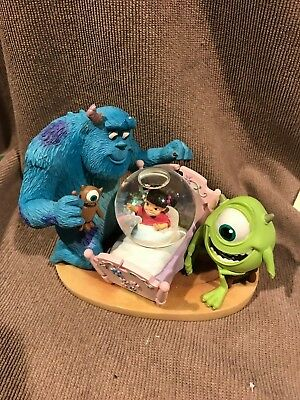 *VERY RARE* Disney Monsters Inc. snow globe, Sully, Mike, Boo