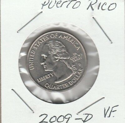 State Quarters 2009-D Puerto Rico