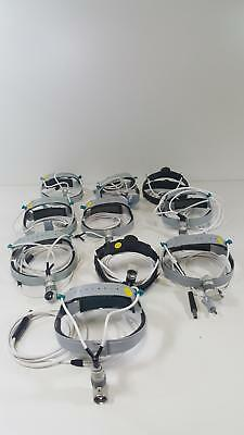 Lot of 10 Luxtec Ultralite Headlamps
