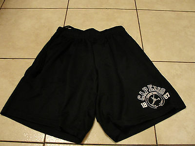 BLACK CAPEZIO DANCE JAZZ HIP HOP SHORTS extra petite (girls 10-14)