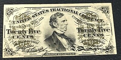 Fractional Currency FR 1294 25 Cent UNC P-27