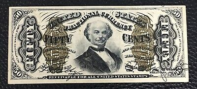 Fractional Currency FR 1339  50 Cent UNC P-28