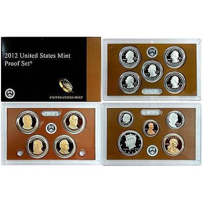 2012 S US Mint Proof 14 Coin Set
