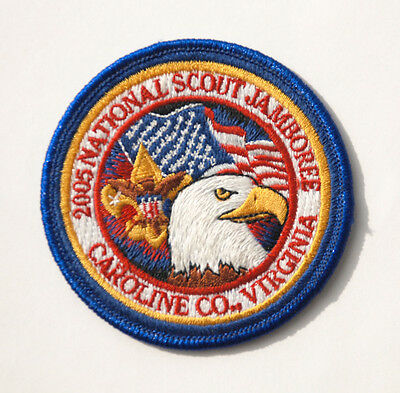 2005 National Jamboree POCKET PATCH (Youth w/ Blue Border) - Official Boy Scout