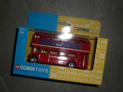 "Corgi Toys NEU ""Routemaster Bus - 50th Anniversary"" London Bus Rot RSA TY82315"