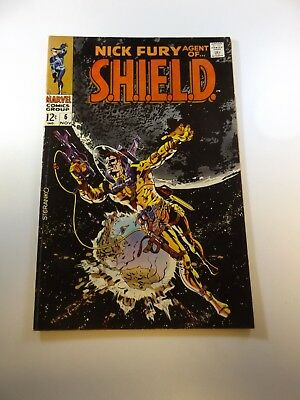 Nick Fury Agent of SHIELD #6 VG+ condition Huge auction going on now!
