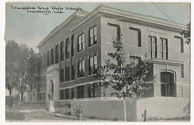1910~Franklin,IN~NEW HIGH SCHOOL~#6380~Johnson County, Indiana