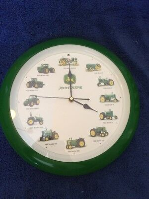 JOHN DEERE Tractor Clock Sounds Original Recorded Sounds On The Hour SEE DETAILS