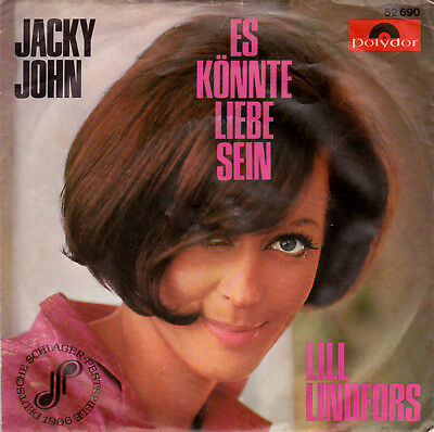 "7"" Single LILL LINDFORS: ""Jacky John"""