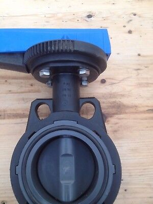 Pimtas - PVC Butterfly Valve DN 80  PN 10 (without flanges)