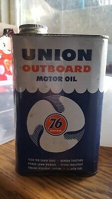 Vintage - Union 76 Outboard Motor Oil Can