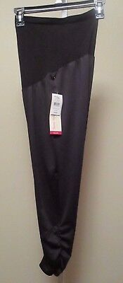 OH BABY by MOTHERHOOD Maternity Women Medium Black Leggings/Pants Bump Style NWT