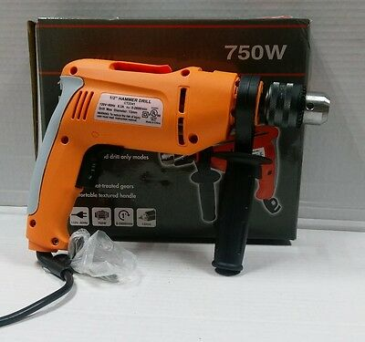 "31/2"" Variable Speed Reversible Hammer Drill 750W"