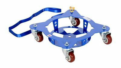 """5 Multi Pail Dolly with 4' Pull Strap 150 lb Capacity 19 7/16"""" Width x 5"""" Height"""