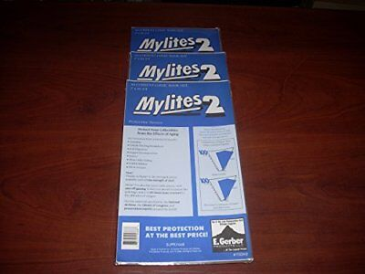 "Mylites 2 Current Comic Book Mylar Sleeves 7"" x 10 1/2"" Plus 1 Flap  Pack of 50!"