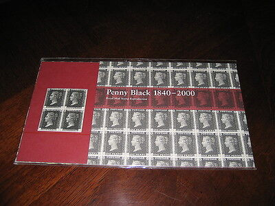 Royal Mail 2000 Penny Black Reproduction Presentation Pack